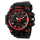 Wrist Watch for Man Waterproof Sport Big Face Military Army Digital Analog SKMEI image