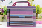 Carrying Handbag Striped Stand Leather Case For iPad mini/2/3/4/Air/Air2/Pro 9.7