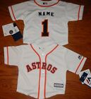 Houston Astros MLB Infant Replica Jersey add any name  number