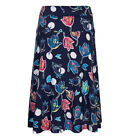 NOW GREATLY REDUCED Malmo Printed Jersey Skirt