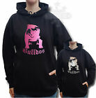 ENGLISH BULLDOG BULLY HOODIE,HOODY GLITTER BULLDOG