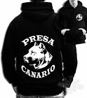 PRESA CANARIO dog FULL ZIP HOODIE PRESA CANARIO NAME HEAD FULL ZIP HOODIE