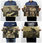 star pubs and bars - 23 Types Pop Music Rock Band Stars Kraft Paper Poster Bar Pub Home Wall Decor