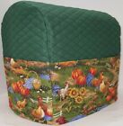 Hunter Green Quilted Rooster Kitchenaid Tilt Head Stand Mixer Cover SHIPS TODAY!