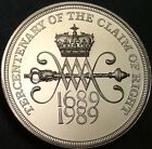 1989 Proof Scottish 'Claim Of Right' Two Pound, £2, Coin. 'As Struck'. Rare.