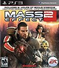 MASS EFFECT 2 - SONY PLAYSTATION 3 PS3 GAME BRAND NEW & SEALED