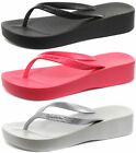 Ipanema Brasil Platform Womens Wedge Flip Flops ALL SIZES AND COLOURS