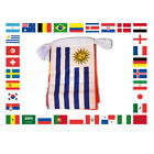 World Cup 2018 Party Decorations Banner XL Flag Bunting 32 Countries 20 Metres