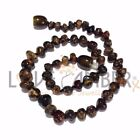 100% Genuine Certified Child Evergreen Polished Green Baltic Amber Necklace UK