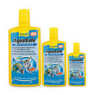 TETRA AQUASAFE 50ML 100ML 250ML 500ML FISH TANK TAP SAFE WATER CONDITIONER