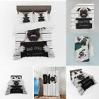 UK Made 3D Bad Dog Photo Print Duvet Quilt Cover or Blanket or Towel
