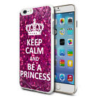 For Various Phones Design Hard Back Case Cover Skin - Be A Princess