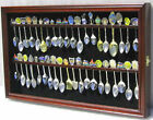 Внешний вид - Wall Shadow Box Display Case to hold 40 Souvenir Spoons, Door, Horizontal, SP04