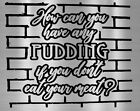 Pink Floyd How can you have any pudding Car Truck sticker Instant Pot Decal