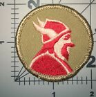BOY SCOUT OF AMERICA KHAKI COLOR PATROL PATCH USED (B50)