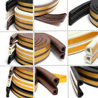 5M Door Window Foam Sticky Tape Weather Strip Seal Noise Insulation Excluder Fun