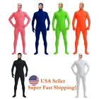 Внешний вид - DH Zentai Suit Men's Spandex Lycra Halloween Full Body Open Face Costume
