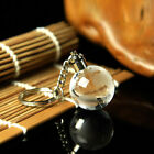 Lovely Crystal Ball 3D Engraved Key Chain Ring Keyring Keychain LED Glow