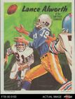 1970 Topps Poster #16 Lance Alworth Chargers EX $15.5 USD on eBay