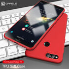 For Huawei Honor 7X Shockproof Soft TPU Dirt-Resistant Fitted Phone Cover Case