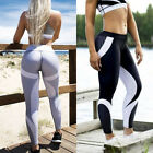 Womens Yoga Fitness Leggings Skinny Gym Stretchy Sports Exercise Pants Trousers