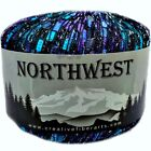 *NEW* Northwest Glitter Metallic Trellis Ladder Yarn ICE Feza Lion Eros Plymouth
