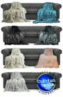 Throws Large Shaggy Long Faux Fur Throw over Sofa Bedspread Fluffy 150x200cm