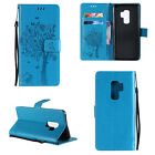 For Samsung Galaxy S9/S9+ Plus Flip Leather Card Wallet Stand Pattern Case Cover