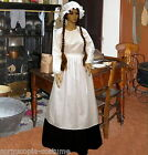 Ladies  Victorian  cook or Pioneer 4pc costume fancy dress UK sizes 6-32