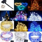 10M 100LEDs 20M 200LEDs Solar Power String Lights Waterproof  Copper Wire Light