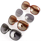 Large Oversized Ladies Women Gradient Sunglasses Big Frame Retro Vintage Fashion