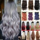 Long Women 100% New Real Full Head Clip in Hair Extensions Extentions Human F2F