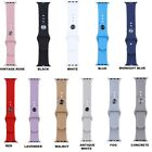 Replacement Sports Silicone Bracelet Strap Band for Apple Watch iWatch 38mm/42mm