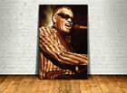 Ray Charles Canvas High Quality Giclee Print Wall Decor Art Poster Artwork # 2