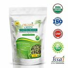 VOKIN BIOTECH ORGANIC GREEN COFFEE BEANS DECAFFEINATED & UNROASTED 225GM