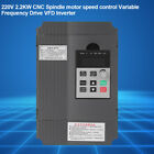 AC220/380V Single Phase/3-Phase Variable Frequency Drive Inverter CNC Motor VFD