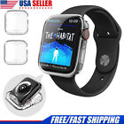 Apple Watch Series 3 2 1 Screen Protector Clear Case Cover For iWatch 38/42mm