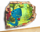 M501 Dinosaur Football Kids Cool Canvas Picture Poster Wall Art Stickers Room