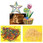 Cute Wooden Matchsticks Colour or Natural Craft Modelling  Match Stick