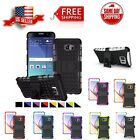 Hybrid ShockProof Kickstand Dual Layer Case Cover For Samsung Galaxy Note 5