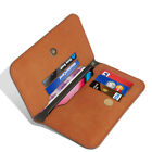 N+ INDIA Universal Wallet Flip Leather Cover Case  For  LG Q8