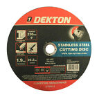 9'' 230mm x 1.9 x 22.2 Bore Arbor Thin Stainless Steel Metal Cutting Disc Blade