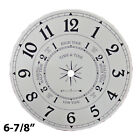 NEW Metal Time and Tide Clock Dial - Choose from 2 Sizes (DM-01)