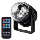 Remote Control Crystal Magic Ball 7 Colors Stage Light Party Disco DJ Club KTV