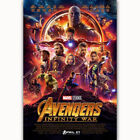 New Avengers Infinity War Marvel Movie Captain Fabric Poster