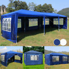 Garden Gazebo Marquee Party Tent Wedding Pavilion Beer Canopy Frame Waterproof