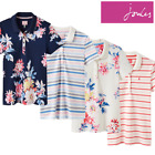 Joules Pippa Printed Ladies Polo Shirt (Y) **FREE UK Shipping**