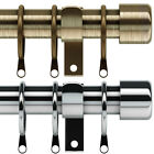 Speedy Freedom 19 - 22mm End Cap Extendable Curtain Pole Set