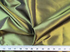 Payless Fabric Two Tone Iridescent Apparel Taffeta Olive Gold