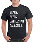 The Office T-Shirt - Bears Beets Battlestar Galactica Shirt - Jim Halpert Shirt
